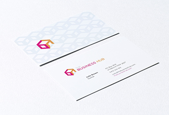 The Business Hub, Branding