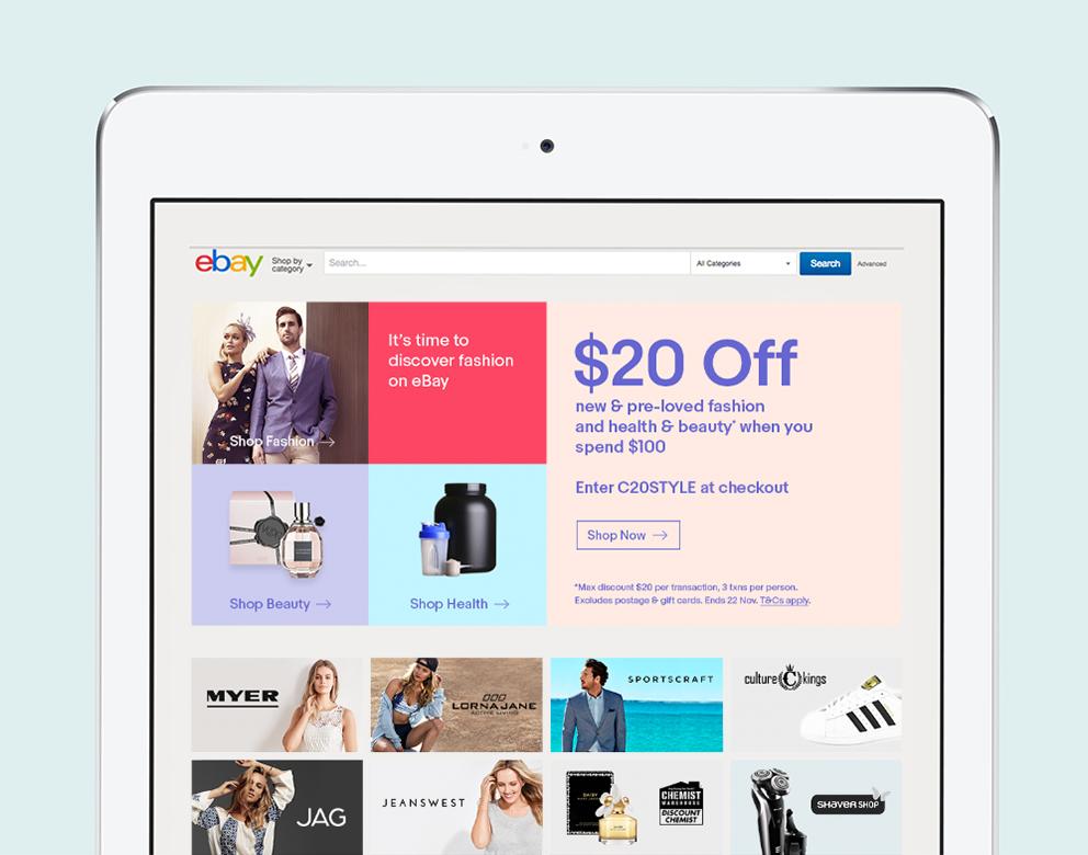 eBay, Brand Support